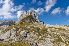 Rocky alpine landscape mountain, Switzerland Stock Photography