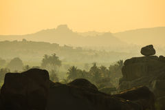 Free Rocky And Misty Early Morning Landscape Royalty Free Stock Photo - 50302245