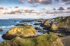 Rocky Antrim Coast royalty free stock images