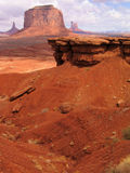 Rocky Arch. This image was taken in the Utah desert at Monument Valley Royalty Free Stock Image