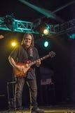 Rocky Atha que joga a guitarra Foto de Stock Royalty Free
