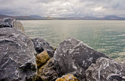 Rocky Atlantic coast Ireland Stock Photography