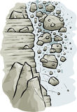 Rocky Avalanche Stock Image