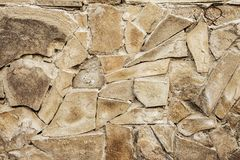 Rocky background, stone wall of grey broken slate background.clo Stock Photo