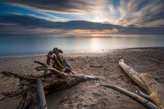 Rocky Baltic sea shore Royalty Free Stock Photos