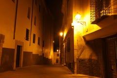 Rocky bank Jucar in Cuenca. Castilla-La Mancha, Sp Royalty Free Stock Images