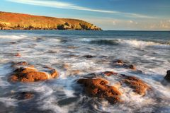 Rocky Bay, costa sul da Irlanda, Co cortiça Foto de Stock Royalty Free