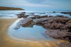 Rocky Bay. Sunset at Rocky Bay, county Cork Ireland stock photos