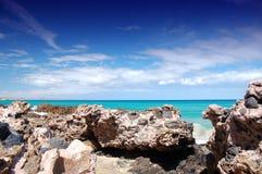 Rocky Beach. Rocks on Fuerteventura Jandia Beach Stock Image