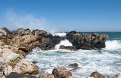 Rocky beach. Stock Images