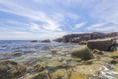 Rocky Beach Royaltyfri Fotografi