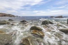 Rocky Beach Fotografering för Bildbyråer