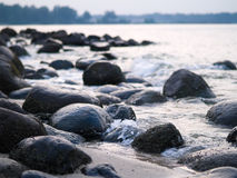 Rocky Beach Royalty Free Stock Photography