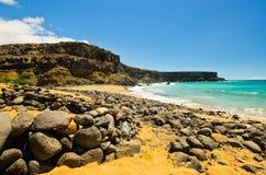 Rocky Beach Arkivfoton