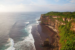 Rocky beach on Bali Stock Photography
