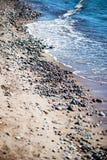 Rocky beach in the baltic sea Stock Photo