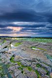 Rocky beach of Bundoran, Ireland Stock Photos