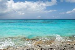 Rocky Beach caraibico Fotografia Stock Libera da Diritti