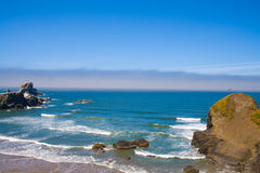 Rocky Beach, Ecola State Park Oregon, USA Stock Photos