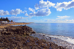 Rocky beach of Gran Canaria Royalty Free Stock Images