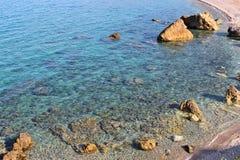 Rocky beach Stock Image