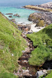 Rocky beach on Isle of Harris Royalty Free Stock Image