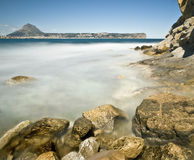 Rocky Beach in Javea Royalty Free Stock Image
