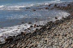 Rocky beach- Maspalomas, Gran Canaria, Spain Stock Images