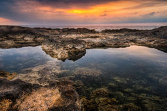 Rocky Beach at Morning Royalty Free Stock Images