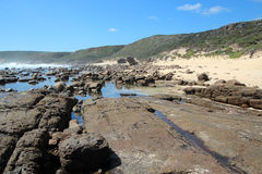Rocky Beach at Moses Rock south western Australia Stock Photography