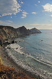 Rocky Beach, Pacific Coast Highway, California Stock Photo