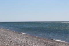 Rocky Beach reculé - premier ressort Photo libre de droits