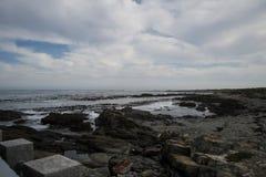 Rocky Beach. A beach on Robin Island Stock Photo