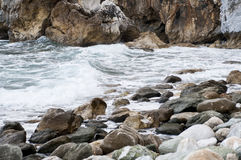 Rocky beach Stock Photography