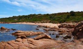 Rocky beach in Sardinia, Italy Royalty Free Stock Photo