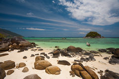 Rocky Beach Small Island Koh Lipe Stock Photography