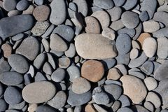 Rocky Beach Texture. These stones make up the texture of this beautiful beach Royalty Free Stock Photo