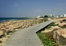 On the way to Ayia Napa, Cyprus Stock Images