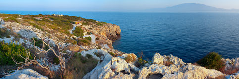 Rocky Beach on Zakynthos. Stock Photo
