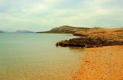 Rocky Beaches in Adriatic Sea Stock Image