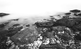 Rocky Black Sea coast Stock Photo