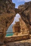Rocky Black Sea-Küste am Kap Kaliakra, Bulgarien stockbilder