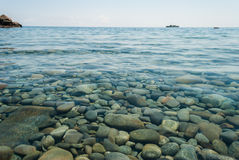 Rocky bottom. Royalty Free Stock Photos
