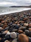 Rocky British Seaside Stockbilder