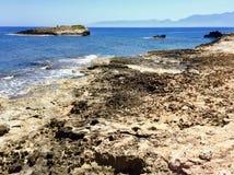 rocky brzegu zdjęcia stock