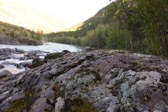 rocky brzegu Zdjęcia Royalty Free