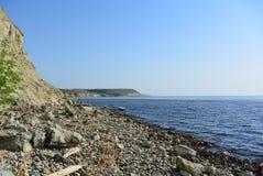 rocky brzegu Obrazy Royalty Free