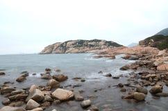 rocky brzegu Zdjęcie Royalty Free