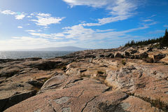 rocky brzegu Fotografia Royalty Free