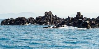 rocky brzegu Obraz Royalty Free